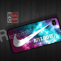 Case iPhone 4 Case iPhone 4s Case iPhone 5 Case idea case just do it case nike case graphic case