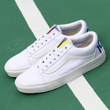 "Trendsetter Vans Classics ""1966"" Old Skool Flat Sneakers Sport Shoes"