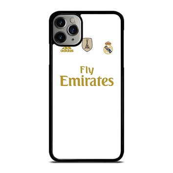 REAL MADRID HOME JERSEY iPhone 11 Pro Max Case