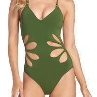 Robin Piccone Ava One-Piece Swimsuit | Nordstrom