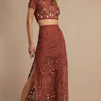 Alice Lace Maxi Skirt