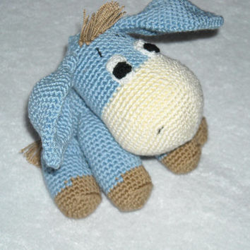 Super cute burro - magic ears. Amigurumi crochet, burro Crochet, Stuffed Doll, Toy.