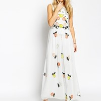 Needle & Thread Embellished Locket Maxi Dress at asos.com