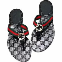 GUCCI GG Fashion sandals Flip flops-1