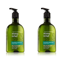 Bath and Body Works Stress Energy Sleep Aromatherapy Hand Soap, 2 Pack (Eucalyptus Spearmint)