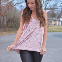 The Patton Top ~ Powder Pink
