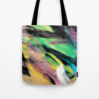 Abstract Artwork Colourful #1 Tote Bag by Kathrinmay