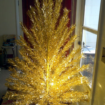 Best mid century christmas tree products on wanelo for Modern gold christmas tree