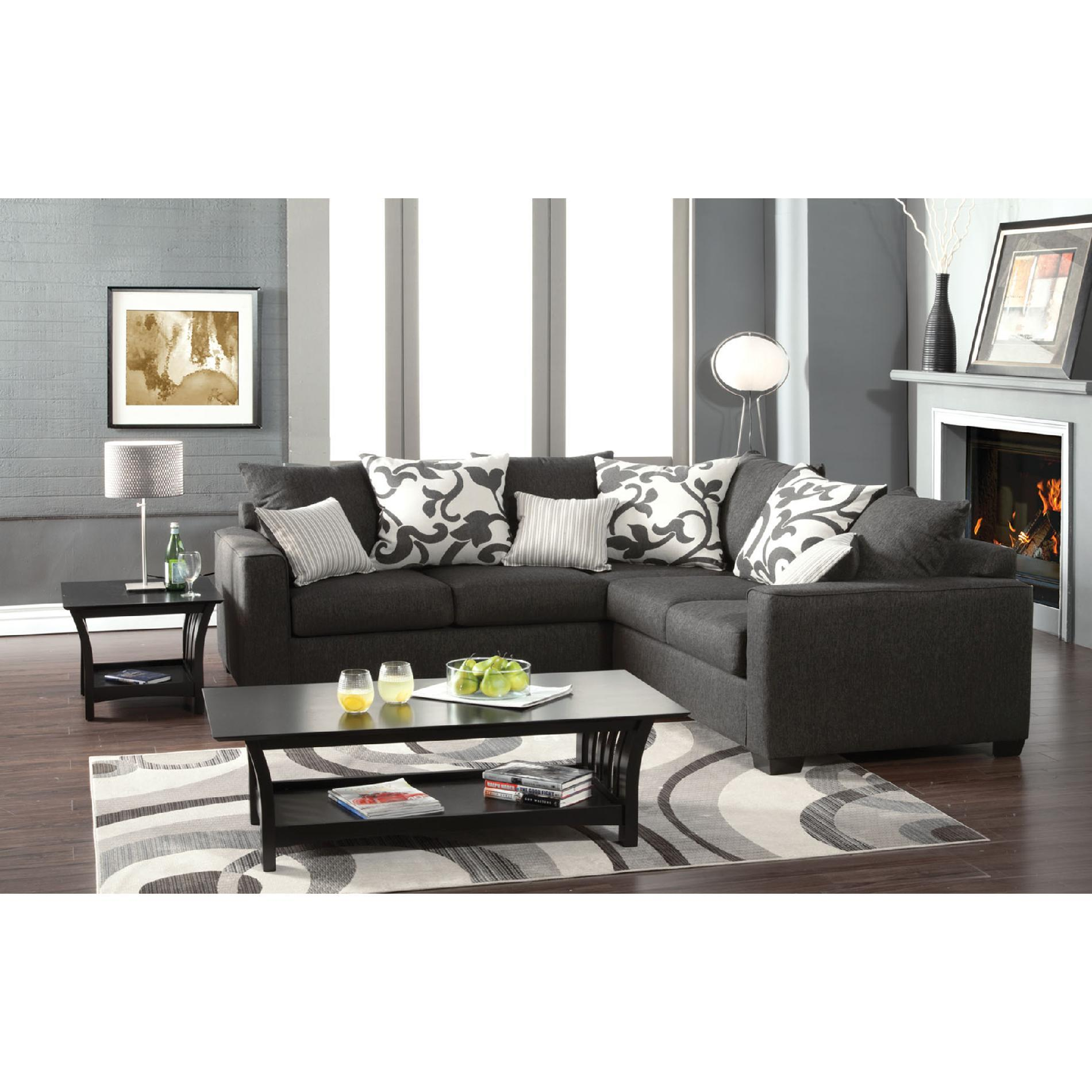 CRANBROOK Charcoal Gray Sectional Sofa From SEARS Epic