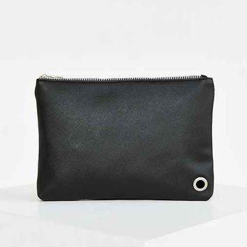 Vegan Leather Medium Pouch