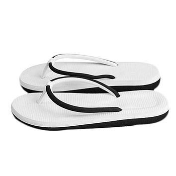 Simple Summer Sandals Women Fashion Flip-flops Lovers Slippers Gift Women Beach Sandals Summer Home Shoes Casual High Quality