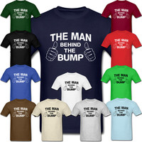 FUNNY MATERNITY SHIRTS - Humorous Pregnancy T-shirt For New Dads To Be. Cool Tee