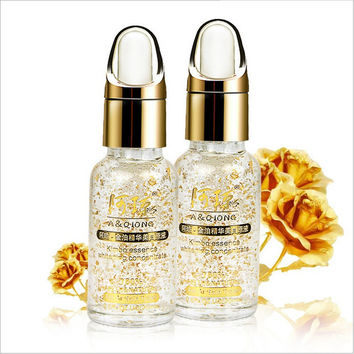 Gold Foil Hyaluronic Acid Serum face cream whitening Face Care Treatment skin care Acne Pimples Moisturizing  Anti Winkles Aging