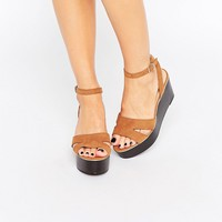 New Look Wide Fit Flatform Sandal
