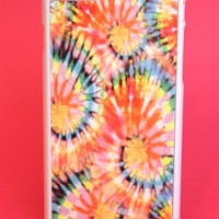 Faded Tie-Dye Swirls Phone Case