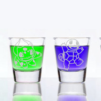 Starting Pokemon Shot Glass Set of 4