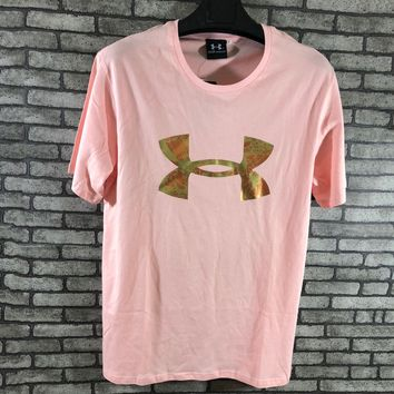 Under Armour Woman Men Fashion Short Sleeve Tunic Shirt Top Blouse