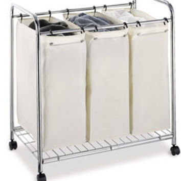 Organize It All 3-section Laundry Sorter | Overstock.com