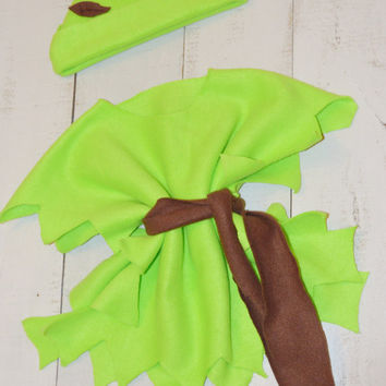 Peter Pan or Shrek Inspired Halloween Costume/ Baby Boys/ Little Girls/ Halloween/ First Halloween/Green/ Disney/ Peterpan Costume/Shrek