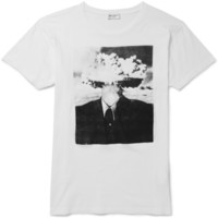 Saint Laurent - Printed Cotton-Jersey T-Shirt | MR PORTER