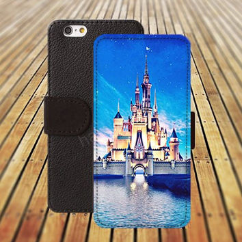 iphone 5 5s case Beautiful cartoon Castle colorful iphone 4/4s iPhone 6 6 Plus iphone 5C Wallet Case,iPhone 5 Case,Cover,Cases colorful pattern L366