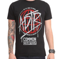 A Day To Remember Common Courtesy T-Shirt