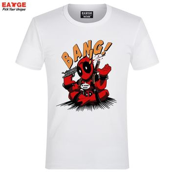"Deadpool ""Click BANG"" Fashion Shirt"