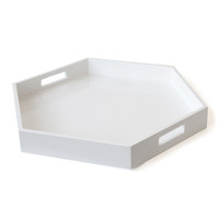 Jonathan Adler Lacquer Hexagon Tray