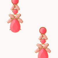 Charming Cluster Drop Earrings