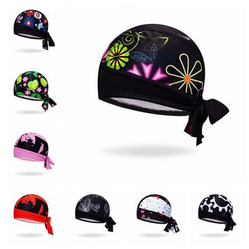 2018 Cycling Cap Head Scarf Men Women Bike bicycle MTB hats Sports Running Bandana Headscarf Ciclismo Pirate Hat Headband Skull