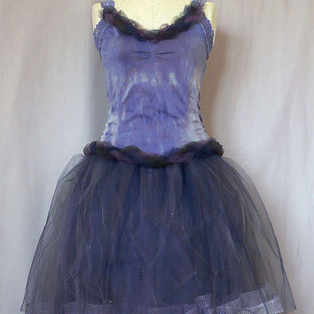 Plus Size Homecoing Prom Short Dress Bride Bridesmaid Dyed Blue Violet Tutu Lace Dress Wedding Dancing Costume Event Party