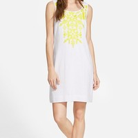 Women's Vineyard Vines Embroidered Shift Dress,
