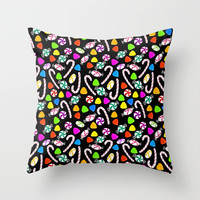Holiday Sweets - Night Throw Pillow by Lisa Argyropoulos | Society6