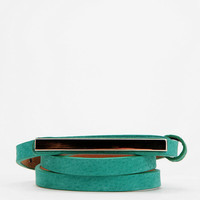 Urban Outfitters - remi & reid Plated Skinny Belt
