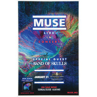 Muse - Concert Promo Poster