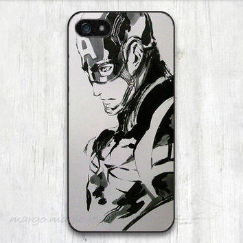 cover case fits iPhone models, unique mobile accessories, Captain America