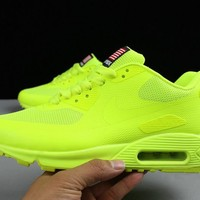 "Nike Air Max 90 Flag ""Light Green"" Men Running Sneaker"