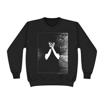 Balance And Composure Men's  Crushed Hope Sweatshirt Black Rockabilia