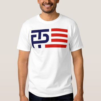 Trump Pence Campaign Logo T-shirt
