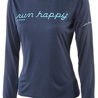 Brooks Women's EZ T LS Run Happy