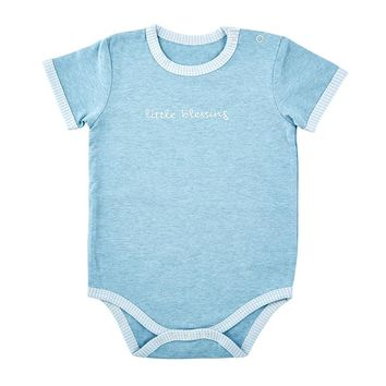SNAPSHIRT - LITTLE BLESSING, 0-3 MONTHS