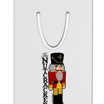 The Nutcracker with Text Aluminum Paper Clip Bookmark by TooLoud