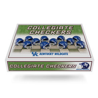 Kentucky Wildcats NCAA Checkers Set