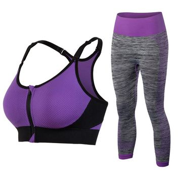 New women's tracksuits Sports Bra and Yoga Pants