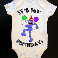 """Grover """"It's My Birthday"""" Party Onesuit or Toddler Tee"""