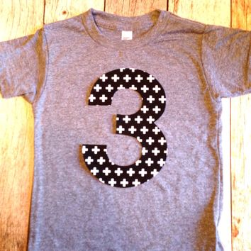Boys tribal Birthday shirt Any NUMBER on Birthday tShirt Birthday Shirt kids 1 2 3 4 5 6 7 8 9 triblend grey camp arrow feather teepee