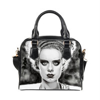 Frankenstein's Bride Shoulder Hand Bag