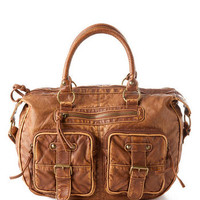 NEVADA WASHED SATCHEL