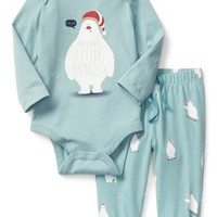 Festive yeti take-home set|gap