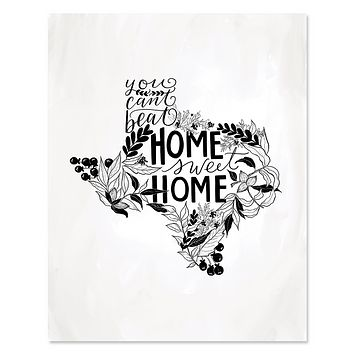 Texas - Print & Canvas